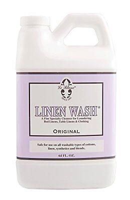 64 OZ Jumbo Le Blanc Linen Wash Classic Scent Clean Vintage