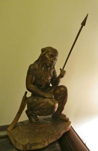 American Indian Wood Carving Ebay