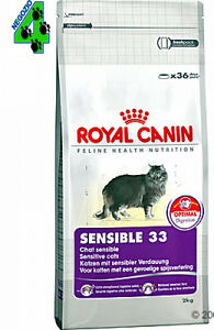 royal canin sensible 33 gatto 15 kg alimento per gatti. Black Bedroom Furniture Sets. Home Design Ideas
