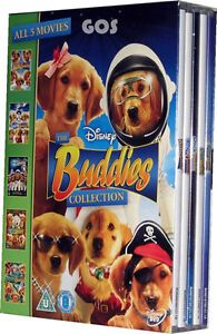 The Buddies Collection Childrens Walt Disney Puppies Film Spooky Santa Kids DVD