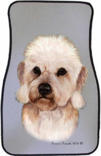 Dandie Dinmont Terrier Car Floor Mats Pair (TB) 36210