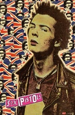 Sex Pistols Sid Vicious UK 24 x 36 Poster Punk Rock Music Memorabilia Print