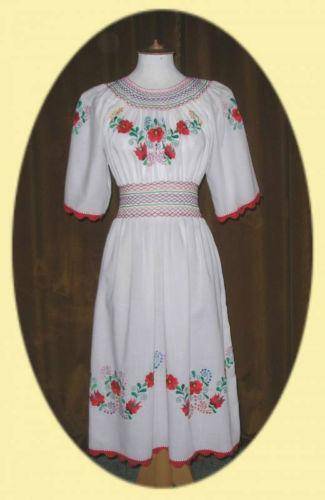 Hungarian Dress Ebay