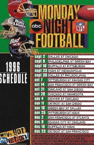 Thursday night football scores history book