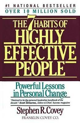 The 7 Habits of Highly Effective People - Paperback - VERY GOOD