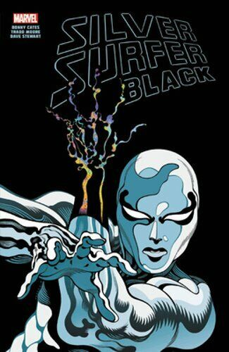 Silver Surfer: Black Treasury Edition by Donny Cates: Used