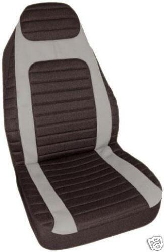 jeep liberty seat covers grey ebay. Black Bedroom Furniture Sets. Home Design Ideas