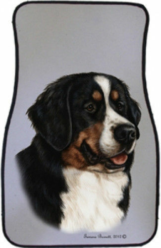 Bernese Mountain Dog Car Floor Mats Pair (TB) 36051