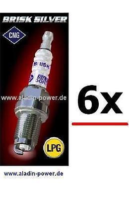 BRISK Silver Zündkerzen 4 Stück LPG CNG Autogas 1351  DR17YS
