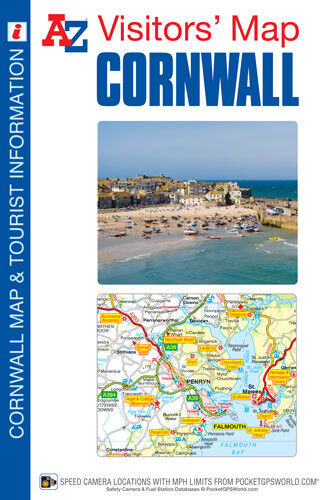 Cornwall Visitors Map by A-Z Map (Sheet map, folded, 2017)