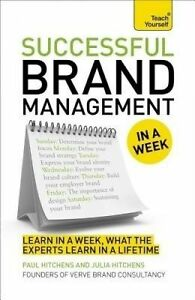 Brand Management in a Week, Paul Hitchens