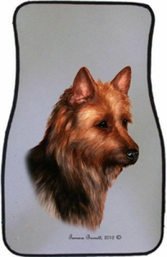 Australian Terrier Car Floor Mats Pair (TB) 36203