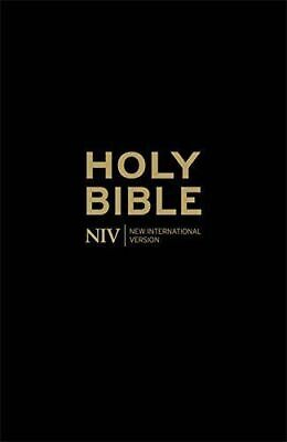 NIV Holy Bible Anglicised Blac by New International Version New Paperback Book