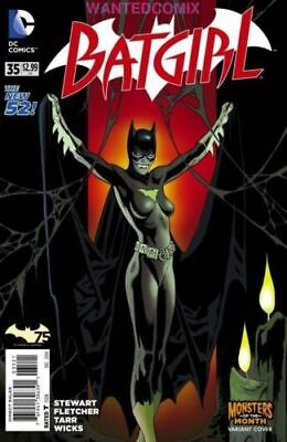 BATGIRL #35 MONSTERS VARIANT COVER NEW TEAM! NEW COSTUME! DC NEW 52 COMIC BOOK 1 - Dc New 52 Costumes