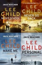 LIKE NEW Lee Child (Jack Reacher) Crime Thriller Novels Books
