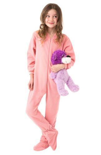 Something is. adult pajamas with feet