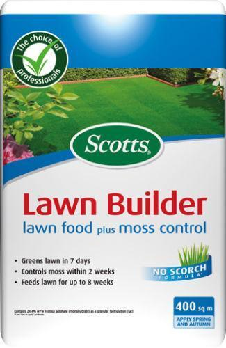 Scotts Lawn Builder Fertiliser Soil Improvement Ebay