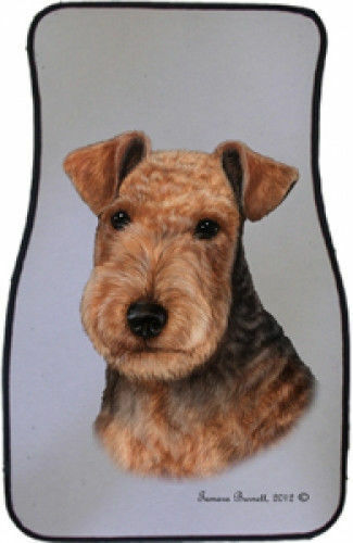 Lakeland Terrier Car Floor Mats Pair (TB) 36234