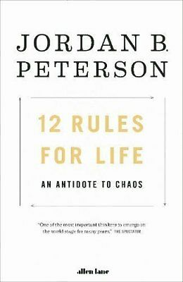 12 Rules for Life by Jordan B. Peterson (Paperback book, 2018)