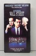 Wall Street VHS