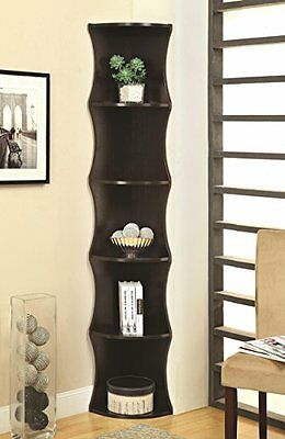 $106.48 - Coaster Home Furnishings 801182 Casual Corner Shelf, Cappuccino