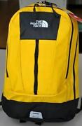 North Face Backpack Yellow