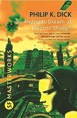 Do Androids Dream Of Electric Sheep? Philip K Dick (Paperback Book 2010)