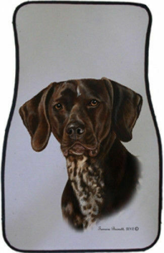 German Shorthaired Pointer Car Floor Mats Pair (TB) 36049