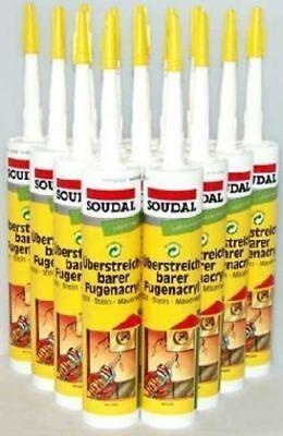 15 x Acryl Dichtmasse Dichtstoff Maleracryl Bauacryl Malerbedarf 310ml