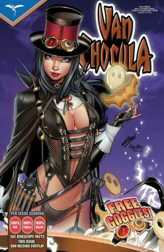 Van Helsing October 2021 Van Chocula Cereal Cosplay Collectible Cover LE