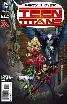 TEEN TITANS #3 NEW OCTOBER 2014 DC COMIC BOOK RAVEN STAR LABS DARK SECRET 1