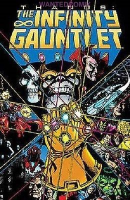 Infinity Gauntlet Tpb Marvel Avengers Thanos War 1 2 3 4 5 6 Guardians Of Galaxy