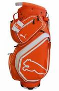 Orange Golf Cart Bag