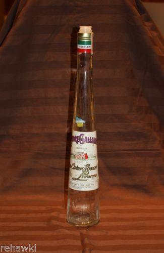 Galliano Bottle Ebay