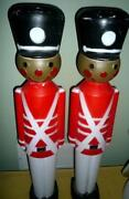 Blow Mold Toy Soldier