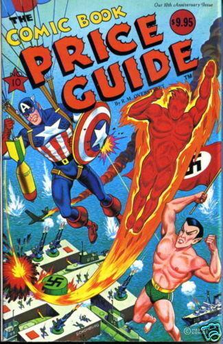 OVERSTREET COMIC BOOK PRICE GUIDE #10 1980 SCHOMBURG