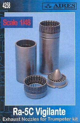 AIRES HOBBY 1/48 RA5C EXHAUST NOZZLES FOR TSM 4258