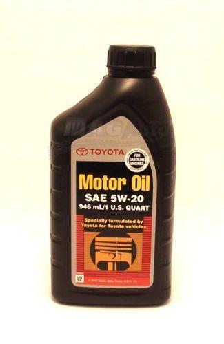 Toyota Motor Oil Ebay