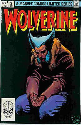 Wolverine (lim.series) # 3 (of 4) (Frank Miller) (USA, 1982)