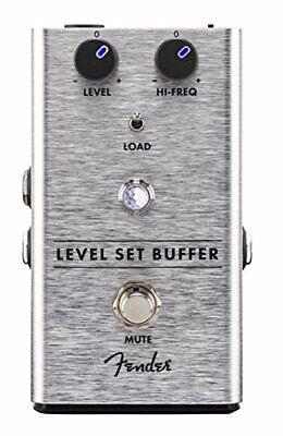 Fender Level Set Buffer Guitar Effects Pedal