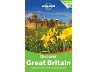 LONELY PLANET: DISCOVER GREAT BRITAIN (LATEST EDITION) . BRAND NEW. RRP £17.99