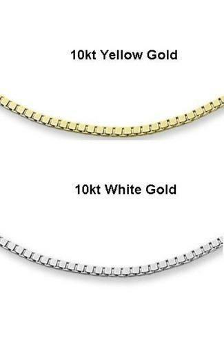 10K White Gold Chain | eBay