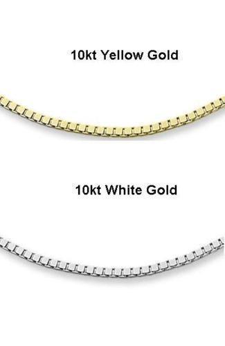 10k white gold chain ebay. Black Bedroom Furniture Sets. Home Design Ideas