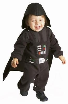Darth Vader Baby Boys Fancy Dress Kids Childs Star Wars Toddler 1-2 Yrs Costume  (Baby Kostüme Star Wars)
