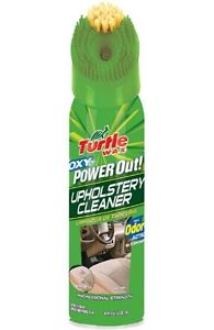 New Turtle Wax T 246R1 Power Out Upholstery Cleaner Odor ...