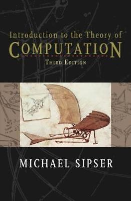 Introduction To The Theory Of Computation 3rd Int'l (Introduction To The Theory Of Computation 3rd)