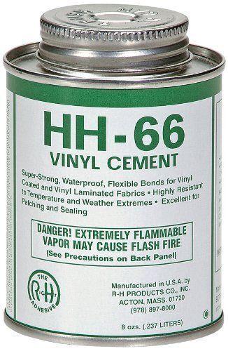 HH-66 Vinyl Cement - 8 oz. Can - Tarp Repair - Vinyl Repair