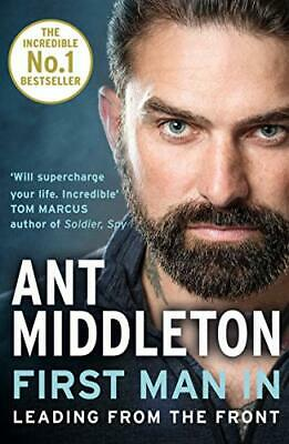 First Man In by Ant Middleton New Paperback Book