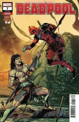 DEADPOOL #7 LAMING CONAN VS MARVEL VARIANT COVER DEC 2018 MARVEL COMIC BOOK 1