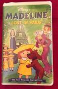 Madeline Lost in Paris VHS